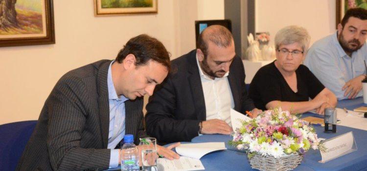 Συμφωνία μεταξύ Δήμου Αγ. Νάπας-Παν/μίου Λευκωσίας