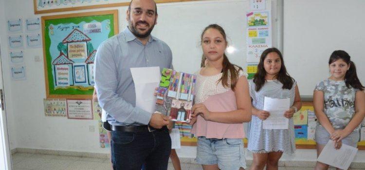 Η βιβλιοθήκη του μέλλοντος, μέσα από τα μάτια των μαθητών της Ε2 του Δημοτικού Σχολείου Αγίας Νάπας – Αντώνη Τσόκκου