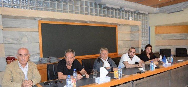 Ο δήμαρχος Αγίας Νάπας υποδέχθηκε την αντιπροσωπεία του Δήμου Χαϊδαρίου