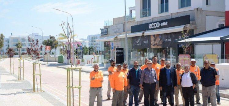 Έτοιμο το οδικό δίκτυο στην Οδό Αλέξανδρου Παπαδιαμάντη στην Αγία Νάπα