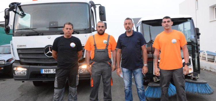 Επιθεώρηση του Δημάρχου Αγίας Νάπας σε παραλίες και υπηρεσία καθαριότητας ενόψει των καλοκαιρινών μηνών