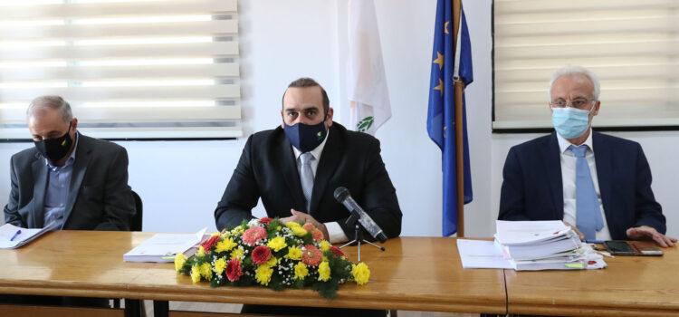 Υπογράφηκε το συμβόλαιο εγκατάστασης ευφυούς συστήματος ελέγχου κυκλοφορίας στον κυκλικό κόμβο Αγίας Φυλάξεως στη Λεμεσό